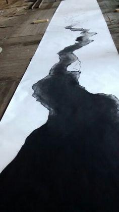 Brisbane Taylor -work in progress Charcoal, but reminds me of ink Illustrations, Illustration Art, Art Abstrait, Sculpture, Street Art, Oeuvre D'art, Art Techniques, Graphic, Contemporary Artists