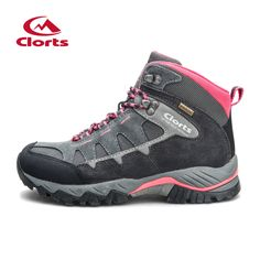 Clorts Women Hiking Boots Waterproof Trekking Shoes Suede Outdoor Shoes Woman Mountain Shoes HKM 823B E. Click visit to buy #Hiking #Shoes #HikingShoes