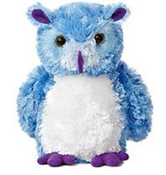 "8"" Blue Hoots Great Horned Owl Plush Stuffed Animal Toy - New"