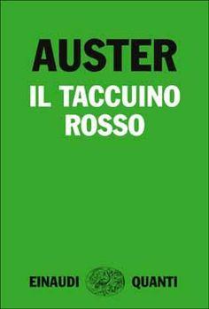 Paul Auster, Il taccuino rosso