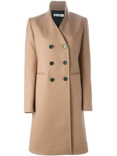 Victoria Beckham Double-Breasted Coat, $3176; farfetch.com
