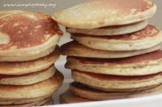 scd almond flour and coconut flour Perfect Pancakes Paleo Keto Recipes, Paleo Treats, Raw Food Recipes, Gluten Free Recipes, Low Carb Recipes, Coconut Flour Pancakes, Pancakes And Waffles, Specific Carbohydrate Diet, Almond Meal