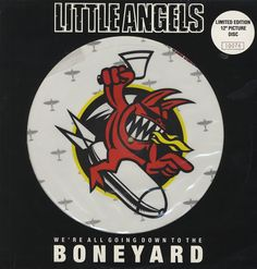 """For Sale - Little Angels Boneyard UK  12"""" vinyl picture disc 12inch picture disc record - See this and 250,000 other rare & vintage vinyl records, singles, LPs & CDs at http://eil.com"""