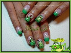 Froggies by RadiD - Nail Art Gallery nailartgallery.nailsmag.com by Nails Magazine www.nailsmag.com #nailart