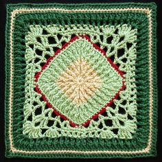 Ravelry: Ribs and Lace Afghan Block by Joyce Lewis