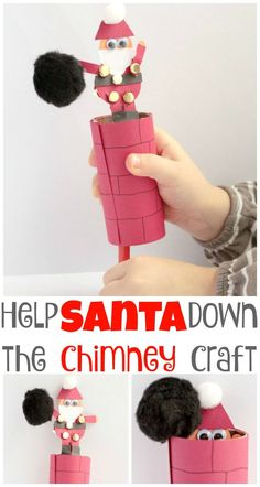 Santa Crafts for Kids Santa Crafts for Kids - See these cute and easy craft ideas that kids will love to make! Great for preschool, kindergarten and beyond!