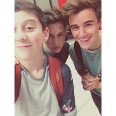 Trevor, Troye and Connor