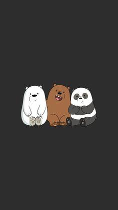 위 베어 베어스 배경화면 아이폰 고화질 23종 ♪ - We Bare Bears Wallpaper Iphone (#208137) - HD Wallpaper & Backgrounds Download