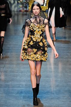 Dolce and Gabbana ready to wear fall 2012