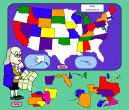 Online game to learn States. Fun!