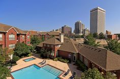 Talk about great views of Downtown Tulsa!!