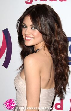 Pretty Little Liars - Lucy Hale..my God she has gorgeous hair! I love everything about this.