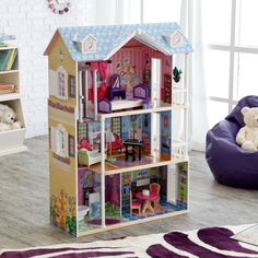 We both love this one too. Lovely! KidKraft My Dreamy Toy Dollhouse with Lights and Sounds - $143.99 @hayneedle.com