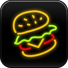 Dine-O-Matic. Icon design by the Iconfactory. New Iphone Update, Icon Design, Logo Design, Iphone Icon, Iphone App, Drink Icon, Neon Logo, Drinks Logo, Neon Wallpaper