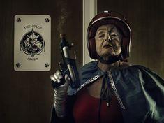 Grandma's Superhero Therapy (18 photos) Wonderful photos, wonderful lady, and a wonderful story!