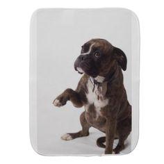#boxer dog burp cloth - #boxer #puppy #boxers #dog #dogs #pet #pets #cute