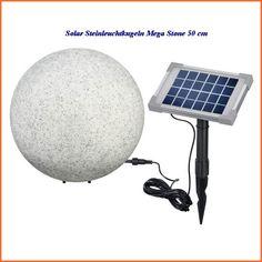 Solar Steinleuchtkugeln Mega Stone 50 cm Durchmesser mit Farbwechsel 106022