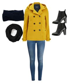 """Snow Delay a Outfit"" by kbroten on Polyvore featuring H&M, Maison Scotch, SWEET MANGO and Coach"