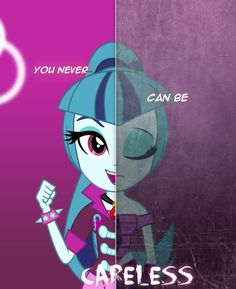 Sonata - two sides. For dazzlings fc contest by WX42