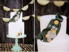 Girl Scout Bridal Shower cake