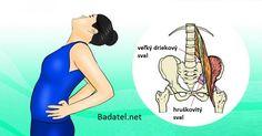 Skrytý sval spúšťa zápal sedacieho nervu. Tieto 2 cviky vám okamžite uľavia