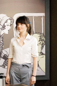 First day at work. (500 Days of Summer)