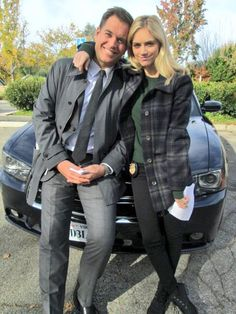 """@EmilyWickersham: Love this guy @M_Weatherly #NCIS ""  OMG soo cute together!!"