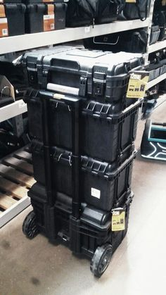 Ridgid Pro Tool Boxes Stacked 工具箱 Pinterest Boxes
