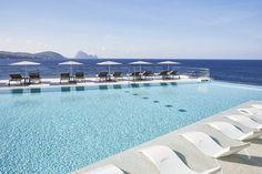 7Pines Kempinski Ibiza - White Ibiza Pershing Yachts, Sunset Restaurant, Hotel Ibiza, Ibiza Beach, Gran Hotel, Balearic Islands, Hotels And Resorts, Luxury Resorts, Luxury Holidays
