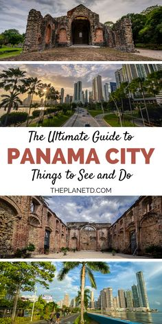Looking for things to do in Panama City, Panama? Whether you are going on a cruise through the Panama Canal or escaping to the islands, chances are you will visit the capital city for a day or two Caribbean Vacations, Dream Vacations, Caribbean Cruise, Panama Canal, Panama City Panama, Utah, Travel Around The World, Around The Worlds, Las Vegas
