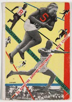 Vintage 1920/'s Soviet Sport Movie Spartakiada Poster A4//A3//A2//A1 Print