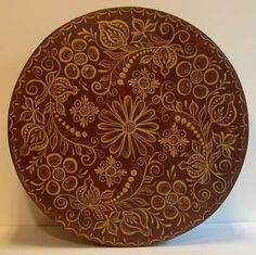 Berchtesgadener Wedding Schachtel Box Gold on Brown by ByCoco