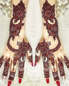 We have got a list of top Mehndi designs for Hand. You can choose Mehndi Design for Hand from the list for your special occasion. Henna Hand Designs, Mehandi Designs, Khafif Mehndi Design, Mehndi Designs For Girls, Stylish Mehndi Designs, Bridal Henna Designs, Arabic Mehndi Designs, Beautiful Mehndi Design, Latest Mehndi Designs