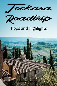 The most beautiful places in Tuscany - Roadtrip - You are planning your holidays in Tuscany? Here you will find all the tips and highlights. Reisen In Europa, Travel Companies, Italy Travel, Italy Trip, Toscana, The Good Place, Travel Inspiration, Travel Destinations, Beautiful Places