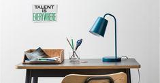 MADE Essentials Clyde Tischlampe, Blaugrün ► Neues Design für dein Zuhause.