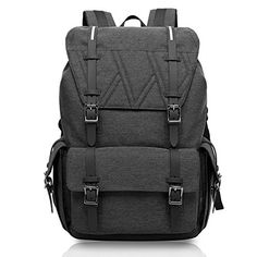 KAKA Water Resistant Laptop Bag AntiTheft Travel Bag Large Capacity Shoulder Daypack School Backpack Black >>> Read more reviews of the product by visiting the link on the image. Note: It's an affiliate link to Amazon