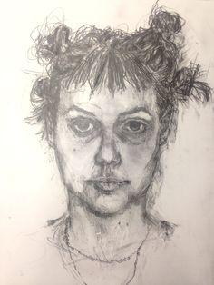 Bea - Self Portrait Art Reference, Cool Art, Portrait, Headshot Photography, Portrait Paintings, Drawings, Portraits