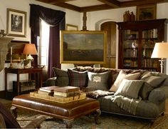 Beachrose Ramblings: Man Caves: Ralph Lauren Style