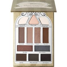 Nightingale Eyeshadow Palette Pretty Vulgar ($43) ❤ liked on Polyvore featuring beauty products, makeup, eye makeup, eyeshadow and palette eyeshadow