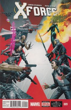 X-force Series 2014 Marvel Now Comic Book for sale online Uncanny Avengers, New Avengers, The Uncanny, Wolverine Avengers, Marvel Now, Marvel Comics, Death Of Wolverine, Marvel Masterworks, Comic Books For Sale
