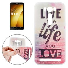 [$0.97] Ultrathin Words Hang Over the Sea Pattern Soft TPU Protective Cover Case for Asus Zenfone 2 Laser / ZE500KL 5.0inch