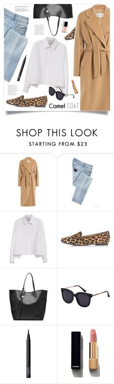"""""""Wear a Camel Coat!"""" by marina-volaric ❤ liked on Polyvore featuring MaxMara, LIU•JO, Y's by Yohji Yamamoto, Dsquared2, Alexander McQueen, NARS Cosmetics, Chanel and camelcoat"""