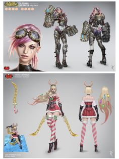 Personagens do game League of Legends criado pelo artista Paul Kwon. #illustration #conceptart #LeagueOfLegends