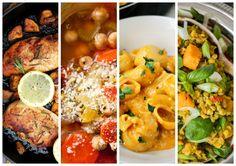 Nach dem Isabelvor einiger Zeitmit der One-Pot-Pasta soviel positives Feedback bekommen hat, ist es allerhöchste Zeit mal ein kleines Best-Of unserer liebsten One-Pot-Gerichte zu posten, denn da geht soviel mehr als nur Pasta! Ich weiß, früher nannte man es auch einfach nur Eintopf, aber weil da wohl die meisten eher weniger Appetit bekommen (ich sag ... Pot Pasta, Easy Peasy, Palak Paneer, Chicken Wings, Meat, Ethnic Recipes, Food, Stew, Fast Recipes