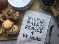 Rejoice & Be Glad - TEA TOWEL