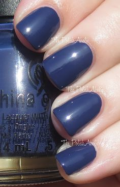 China Glaze Fall 2013 Autumn Nights Collection Swatches - Queen B