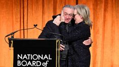 Robert De Niro Blasts Trump In Expletive Filled Intro For Meryl Streep