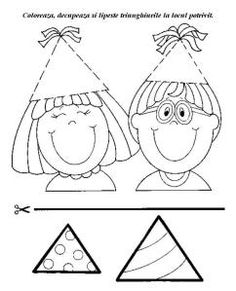 Crafts,Actvities and Worksheets for Preschool,Toddler and Kindergarten.Free printables and activity pages for free.Lots of worksheets and coloring pages. Circus Activities, Math Activities, Toddler Activities, Educational Activities, Preschool Learning, Kindergarten Worksheets, Preschool Crafts, Triangle Worksheet, Baby Clip Art