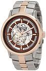 Kenneth Cole NY Mens Automatic Brown Skeleton Dial Two Tone Bracelet Watch NEW - Automatic, bracelet, Brown, Cole, Dial, Kenneth, Mens, Skeleton, tone, Watch - http://designerjewelrygalleria.com/kenneth-cole/kenneth-cole-bracelets/kenneth-cole-ny-mens-automatic-brown-skeleton-dial-two-tone-bracelet-watch-new/