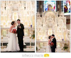 Church Ceremony Altar #Wedding #Details @Rebecca Marie